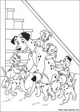 Coloriages des 101 dalmatiens - 101 dalmatiens dessin ...