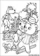 Coloriage les 3 petits cochons choisis tes coloriages les - Coloriage les trois petit cochons ...
