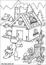 Coloriage les 3 petits cochons choisis tes coloriages les - Dessin des 3 petit cochon ...