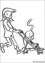 Coloriage les familius choisis tes coloriages les - Poussette dessin ...