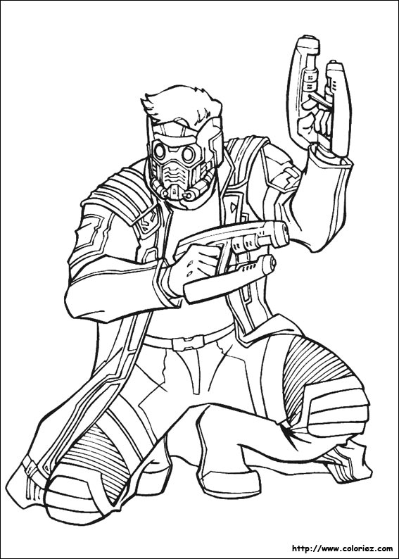 Galaxy Coloring Pages Easy