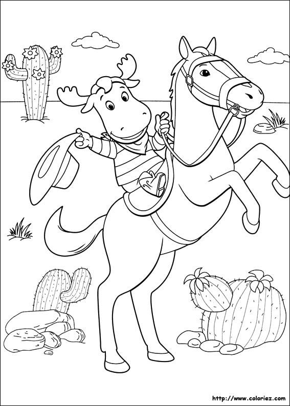 Coloriage coloriage de th o le cowboy - Dessin de cowboy ...