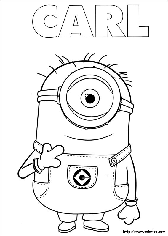 minions coloring pages halloween pumpkins - photo#32
