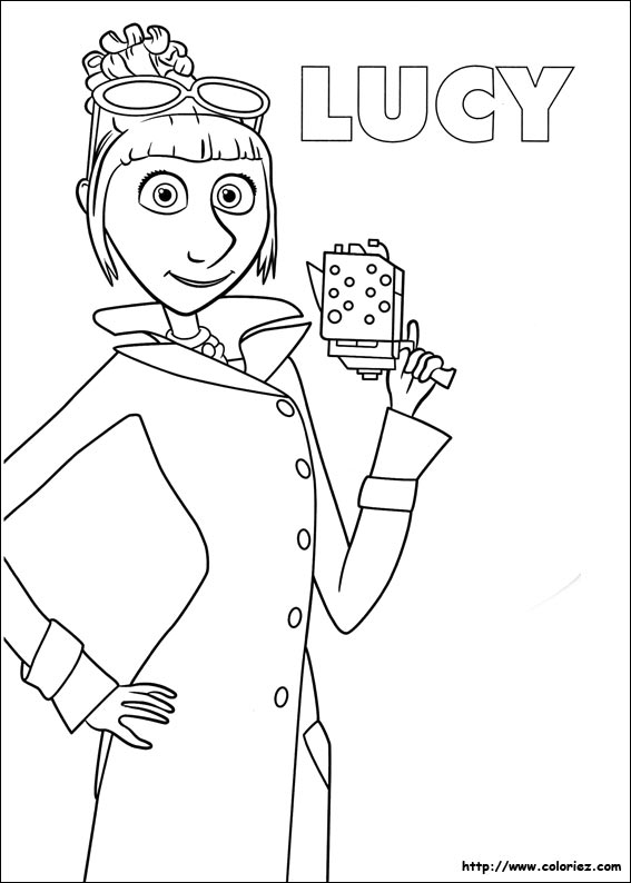 Coloriage lucy minion - Coloriage lucie ...