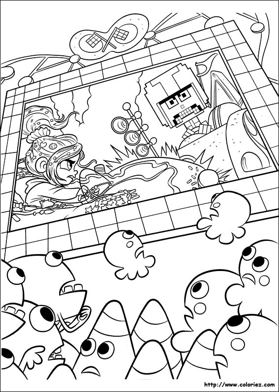Index of images coloriage les mondes de ralph - Coloriage le monde de ralph ...