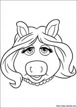 Coloriage Piggy