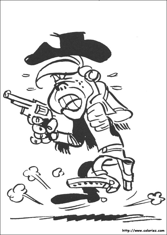 Index Of Images Coloriage Lucky Luke