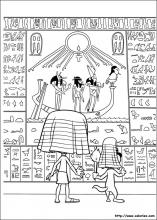 La tombe egyptienne