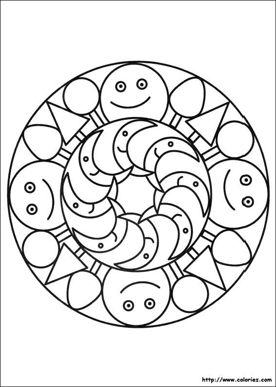 Coloriage Mandala Nature.Coloriage Mandala Nature Depu Vi