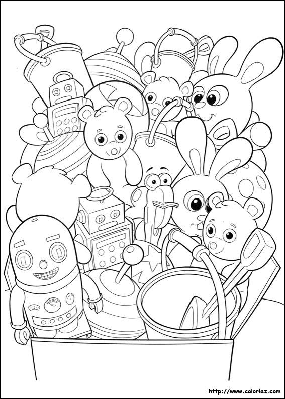 serra et les jouets
