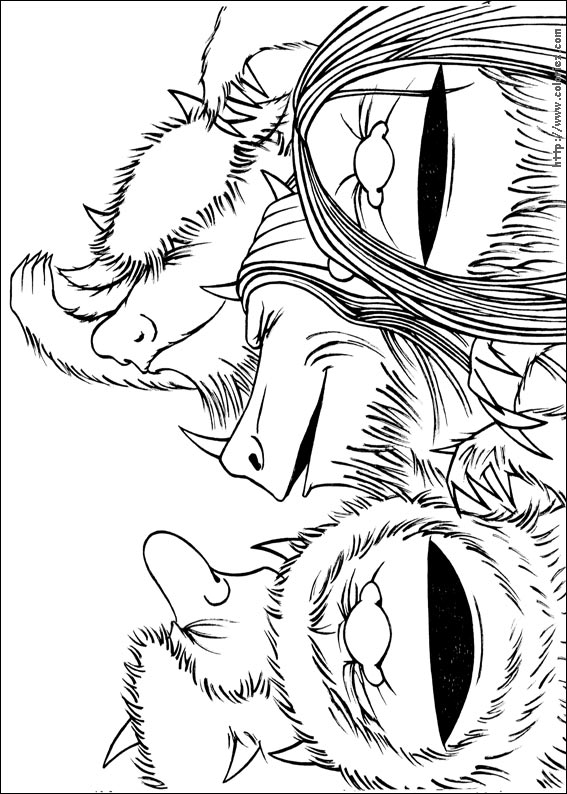 Where The Wild Things Are Book Coloring Pages