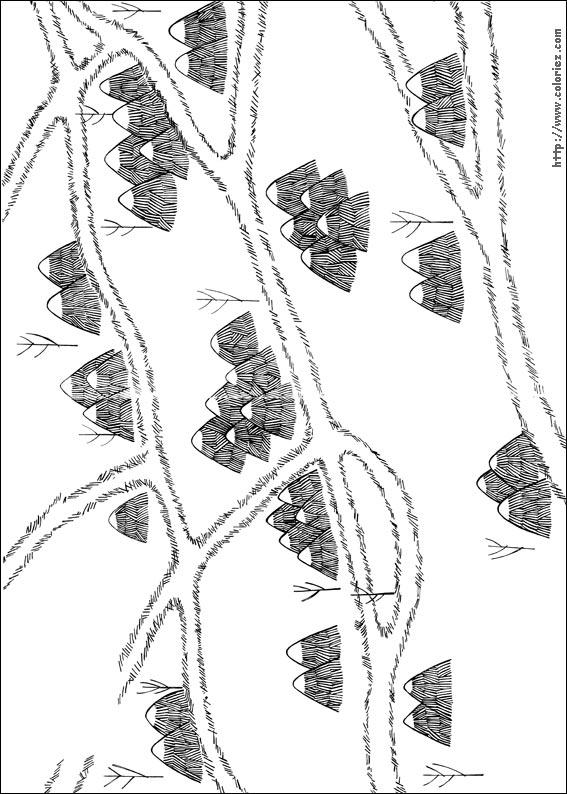 Coloriage coloriage de la mini ville des maximonstres - Coloriage ville ...