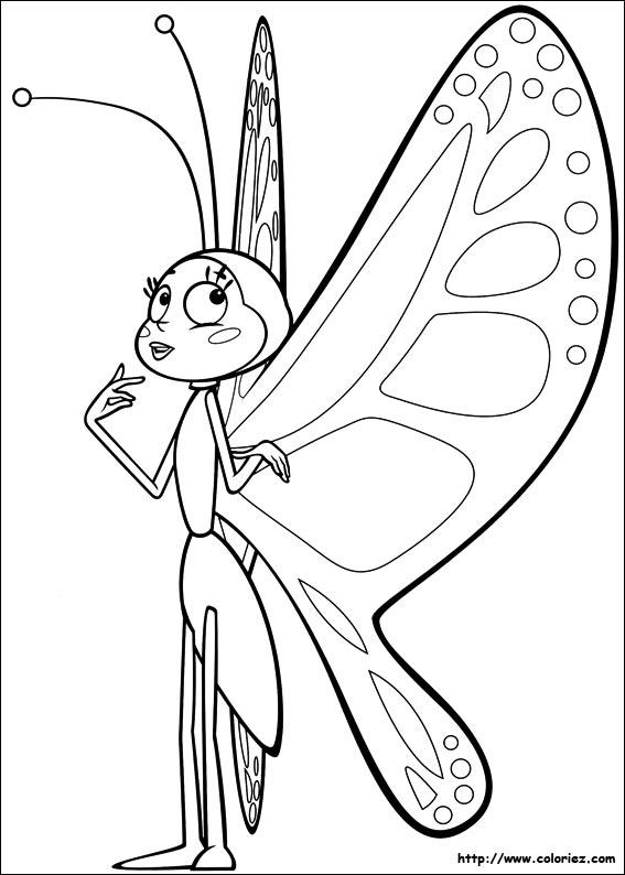 Coloriage b atrice - Maya l abeille coloriage ...
