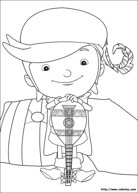 Coloriage fernando - Coloriage mike le chevalier ...