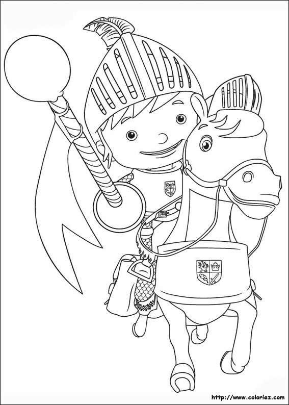 Index Of Images Coloriage Mike Le Chevalier