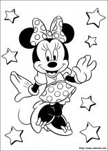 Coloriage minnie choisis tes coloriages minnie sur - Dessin de mini mouse ...