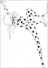 Coloriage dessins imprimer pour les enfants miraculous t - Dessin a colorier ladybug et chat noir ...