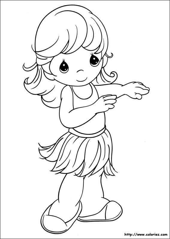 Dessin danse tahiti - Coloriage tahiti ...