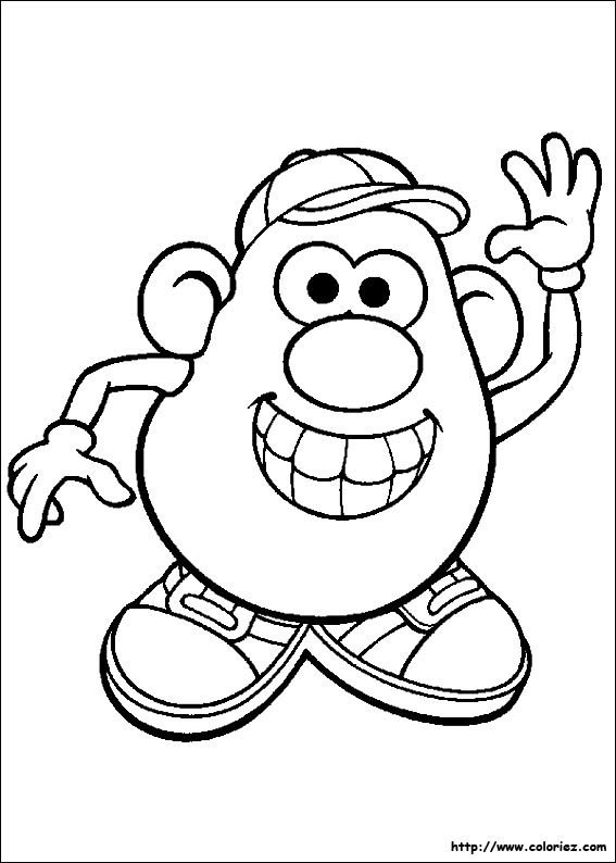 index of images coloriage monsieur patate