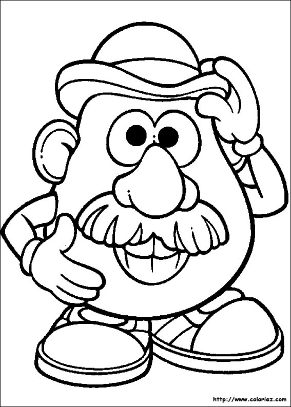 Index of images coloriage monsieur patate - Mr patate dessin ...