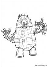 Coloriage du robot Probe