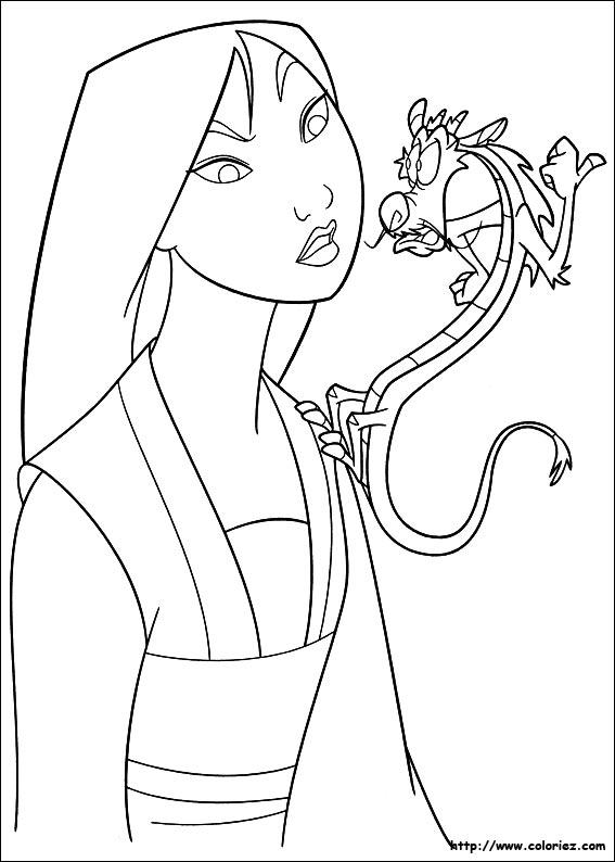 Mulan Chibi Coloring Pages Coloring Pages Mulan Coloring Pages
