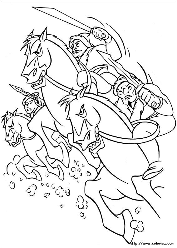 mulan shan yu coloring pages - photo#5