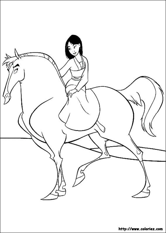 Index of images coloriage mulan - Mulan coloriage ...