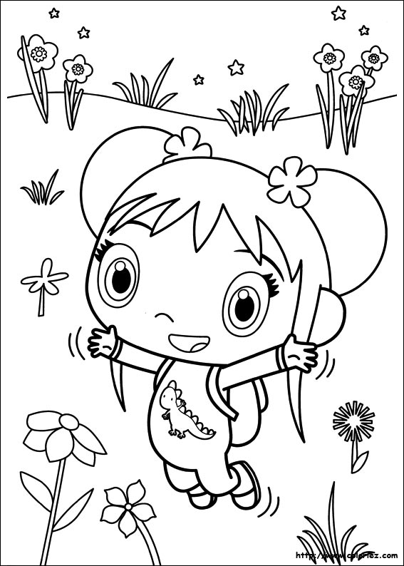 kai lan coloring pages - photo#41