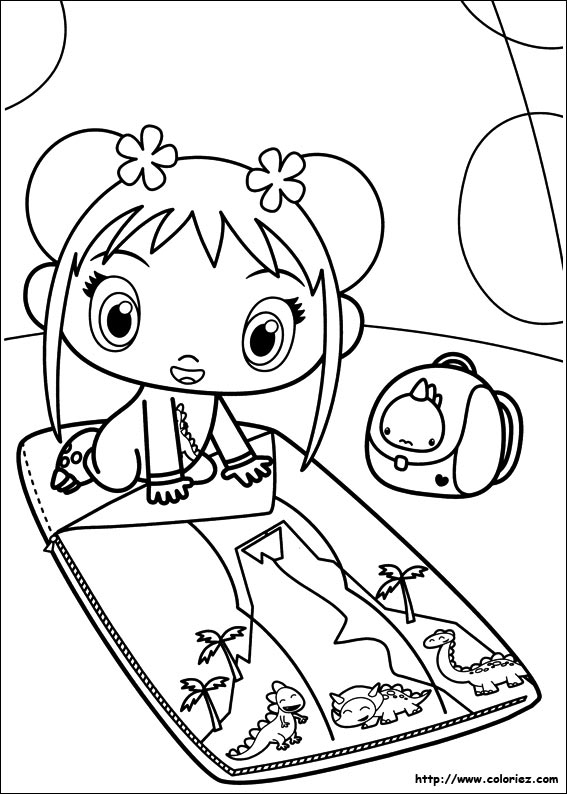 kai lan coloring pages - photo#46