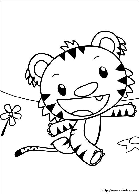 Coloriage coloriage de rintoo l 39 aventurier for Kai lan coloring pages