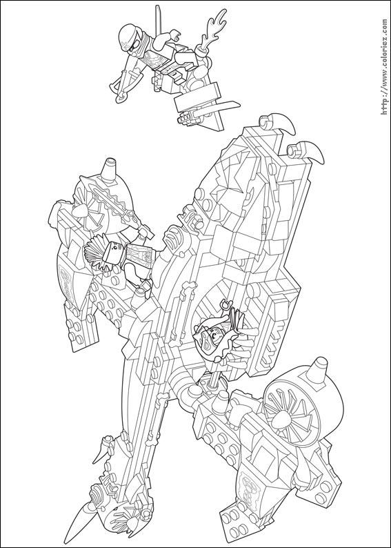Coloriage le dragon de wu - Ninjago dessin anime ...