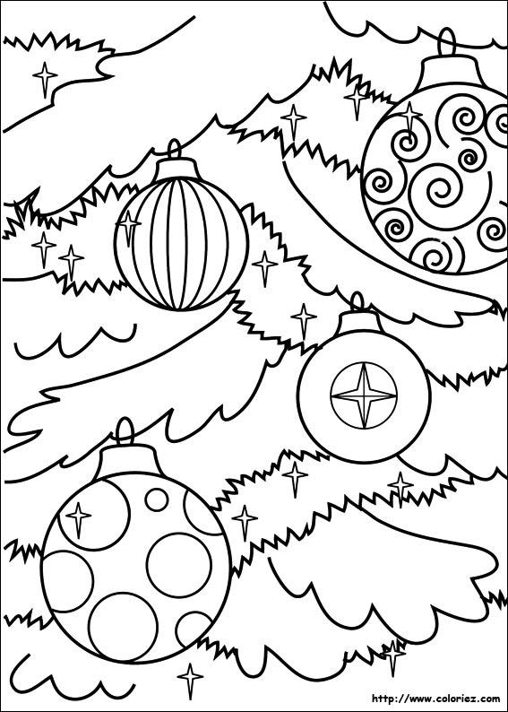 Coloriage boule de no l d corer - Boule de noel a decorer ...
