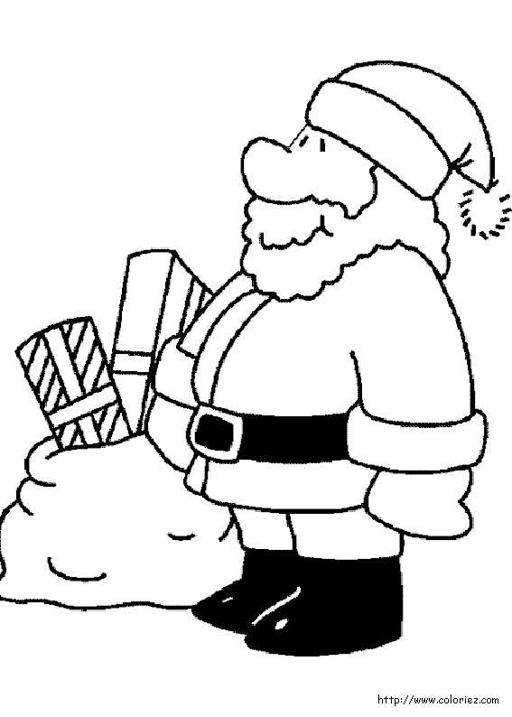 Les Coloriages De Noel