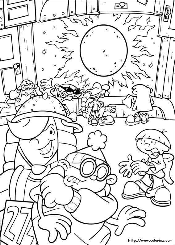 Coloriage du kidnapping