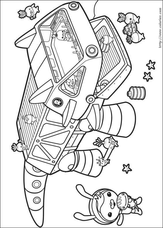 octonauts gup x coloring pages - photo#17