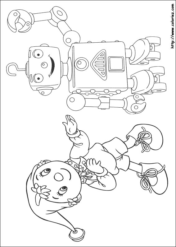 Coloriage whizz - Coloriage ouioui ...