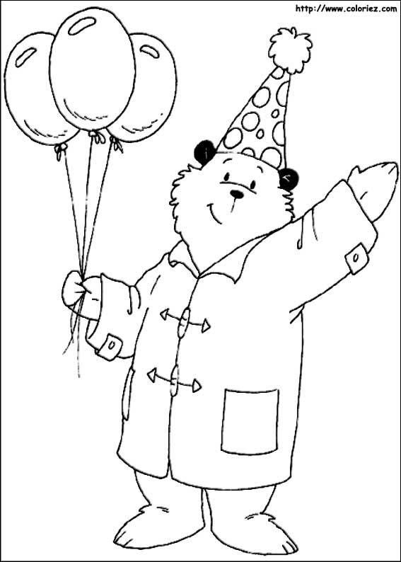 Index Of Images Coloriage Ours Paddington