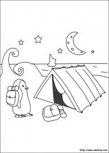 Coloriage du camping