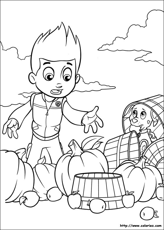Paw Patrol Mer Pup Coloring Pages