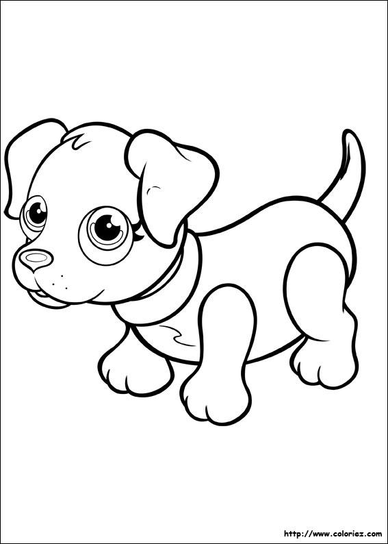 Coloriage labrador noir - Coloriage labrador ...