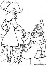 Coloriage de peter pan retour au pays imaginaire - Capitaine crochet coloriage ...