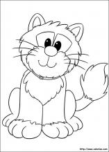 Coloriage de Jess le chat