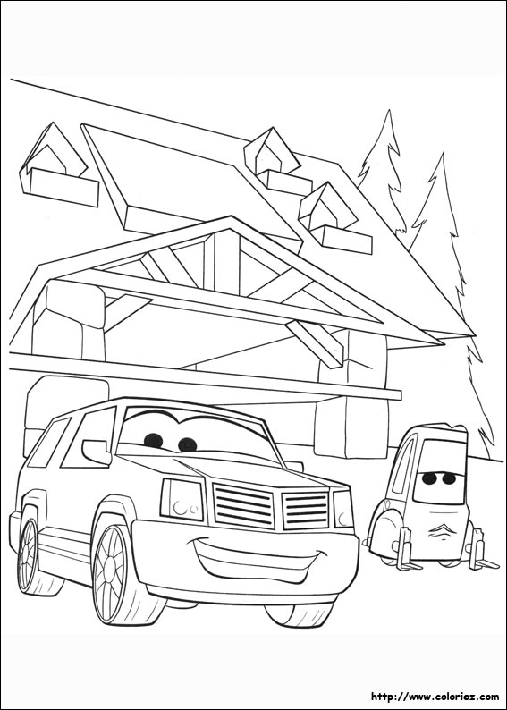 Coloriage cad spinner et andr - Planes coloriage ...