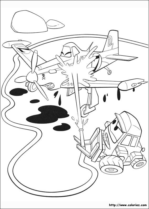 coloriage planes 2 1