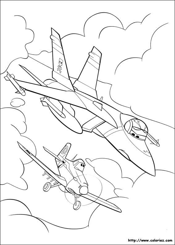 Coloriage intervention - Planes coloriage ...