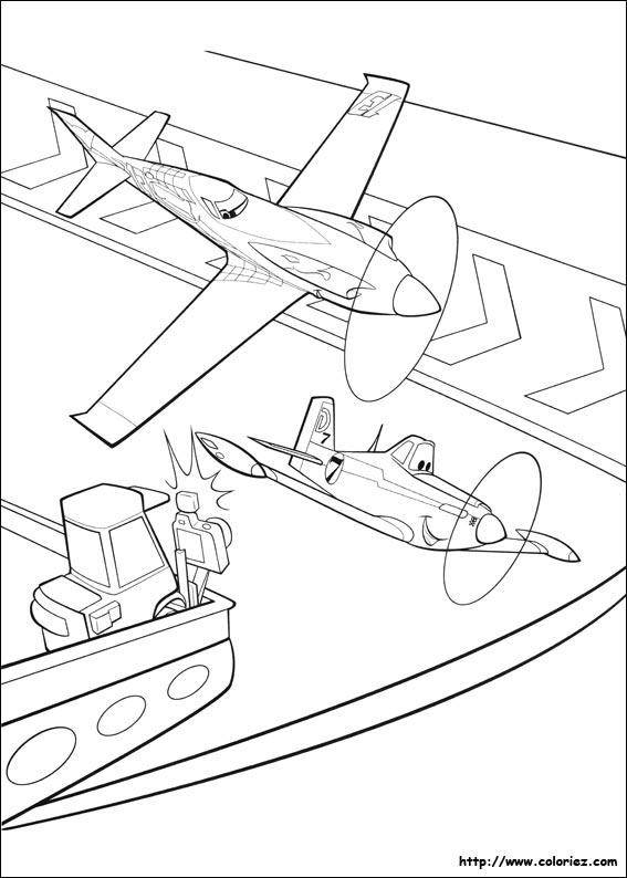 Coloriage coude coude - Planes coloriage ...