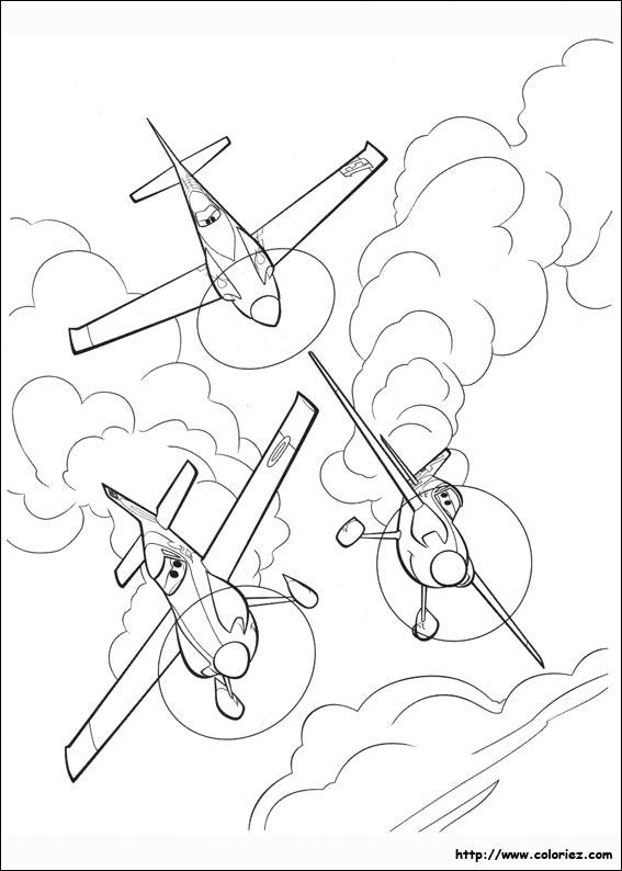 coloriage planes 134