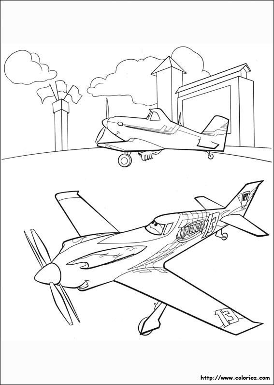 Coloriage ripslinger n 39 y croit pas - Planes coloriage ...