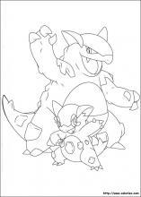 Coloriage pokemon choisis tes coloriages pokemon sur - Pokemon mega kangourex ...